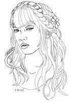 Emily Vitori Designs: Ladies Face 1