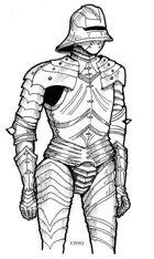 Emily Vitori Designs: Knight in Armor 1