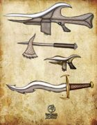 Bree Orlock Designs: Science Fiction Weapons Pack 1