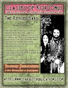 Classes of Kor'Onus: The Revised Bard