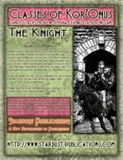 Classes of Kor'Onus: The Knight