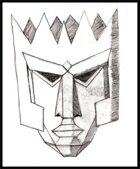 Mythic Glyphs: Atlantean Mask 2