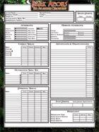 Dark Aeons Persona Sheet 2