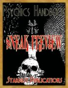 Dark Aeons - Psychics Handbook Sneak Preview