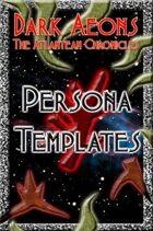 Dark Aeons: Persona Templates  #8 - The Atlanteans