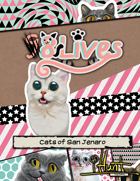 #iHunt: The RPG Zine 09 - 8 Lives: The Cats of San Jenaro