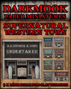 Supernatural Western Town