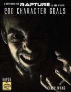 200 Character Goals for Rapture