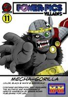 Power Pics Villains 11- mechagorilla M&M edition