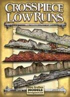 Crosspiece Low Ruins Paper Models