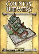 Country Brewery Paper Model