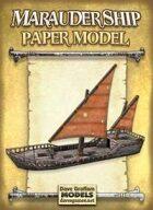 Marauder Ship Paper Model