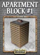Apartment Block #1 Paper Model