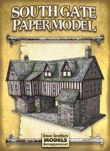 South Gate Paper Model