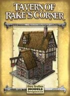 Tavern of Rake's Corner Paper Model