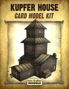 Kupfer House Card Models Kit