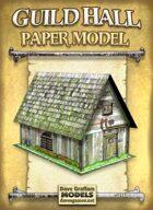 Guild Hall Paper Model