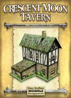 Crescent Moon Tavern Paper Model