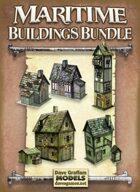Maritime Buildings Bundle Paper Models
