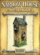 Narrow House Paper Model