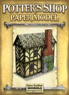 Potter's Shop Paper Model