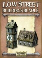 Low Street Buildings Bundle Paper Models