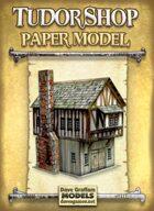 Tudor Shop Paper Model
