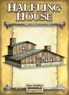 Halfling House Paper Model