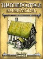 Thatched Cottage Paper Model