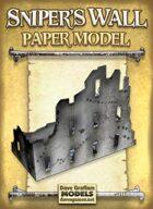 Sniper's Wall Paper Model
