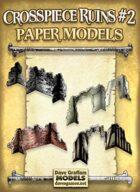 Crosspiece Ruins Set #2 Paper Models