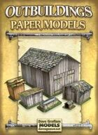 Outbuildings Paper Models Set