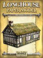 Longhouse Paper Model