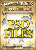 Crosspiece Ruins Set PSD Files