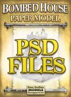Bombed House PSD Files