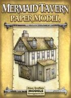 Mermaid Tavern Paper Model