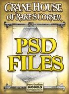 Crane House of Rake's Corner PSD Files