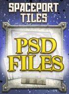 Spaceport Tiles PSD Files