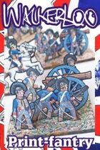 British RHA 9lber & Crew. 1815.