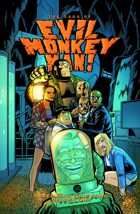 The Saga of Evil Monkey Man! Season One Trade