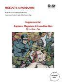 Supplement IV: Captains, Magicians, & Incredible Men: Pt. I - Ace-Fox