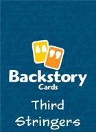 Backstory Cards Setting Grid: Third Stringers