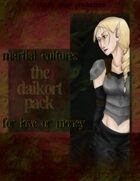 Martial Cultures: the Daikort Pack