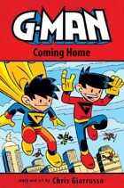 Secret Identity Issue #514--G-Man and Chris Giarrusso