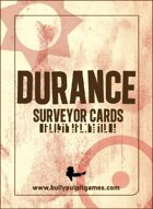 Durance: Surveyor Cards