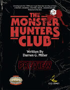 The Monster Hunters Club Preview