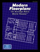 Modern Floorplans: An Average Retro Movie Theater
