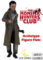 Monster Hunters Club Figure Flats