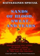Sands of Blood, Sweat and Tears