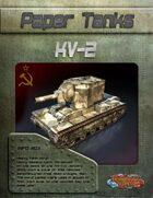 Paper Tanks - KV-2